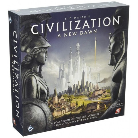 Sid Meier's Civilization: A New Dawn (2017) - стратегическа настолна игра