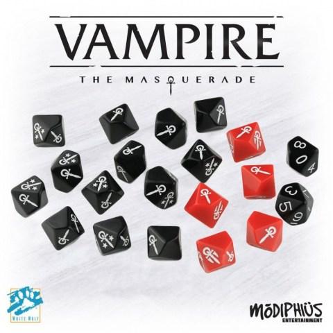 Vampire The Masquerade: 5th Edition - Dice Set