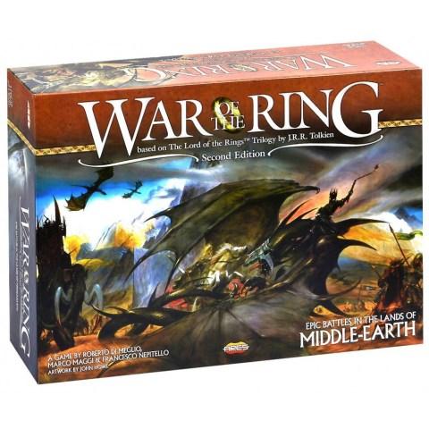 """War of the Ring (2nd Edition, 2016) - настолна игра по """"Властелинът на пръстените"""""""