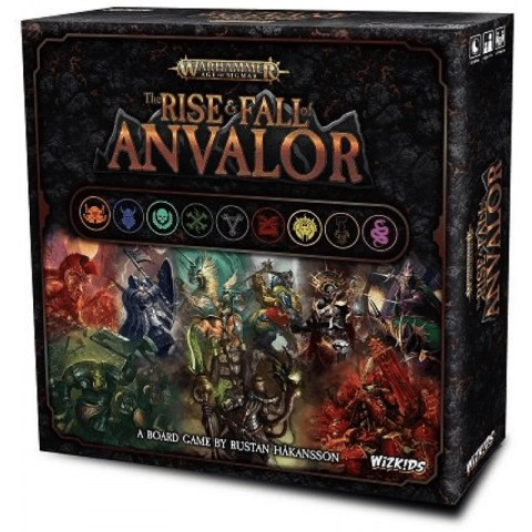 Warhammer: Age of Sigmar – The Rise & Fall of Anvalor (2019) Board Game