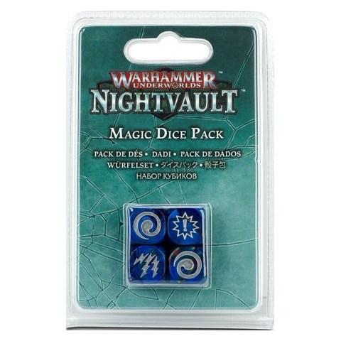 Warhammer Underworlds Dice: Nightvault – Magic Dice Pack