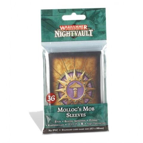 Warhammer Underworlds Sleeves: Nightvault – Mollog's Mob Card Sleeves