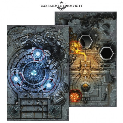 Warhammer Underworlds Terrain: Shadespire – Shattered City Board Pack