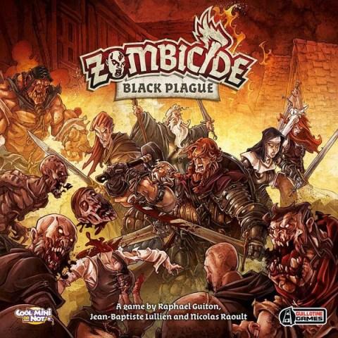 Zombicide: Black Plague Core Game (2015) - кооперативна настолна игра
