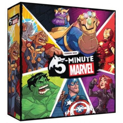 5-Minute Marvel (2018) - кооперативна настолна игра