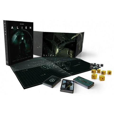 ALIEN RPG: Standard Bundle (Core book, Dice, GM Screen, Maps & Markers and Cards)
