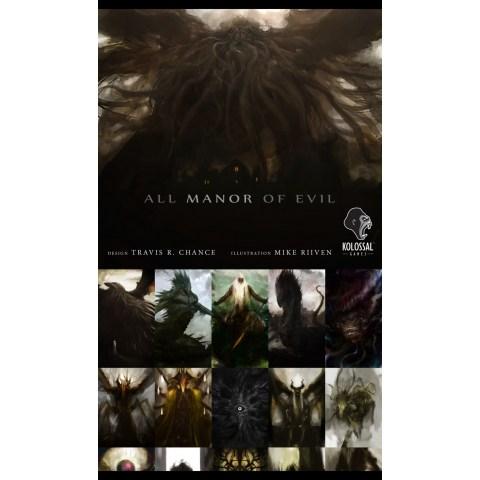 (Pre-order) All Manor of Evil (2019) - настолна игра