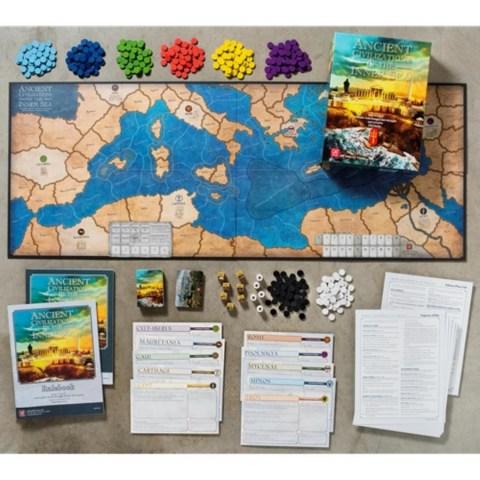 Ancient Civilizations of the Inner Sea (2019) - историческа настолна игра