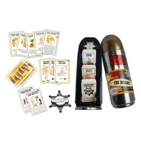 """Bang! 4th Ed. Card Game Deluxe Edition """"The Bullet"""" Board Game"""