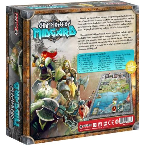 Champions of Midgard (2015) - настолна игра
