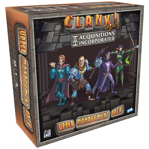 Clank! Legacy: Acquisitions Incorporated - Upper Management Pack (2019)  - разширение за настолна игра