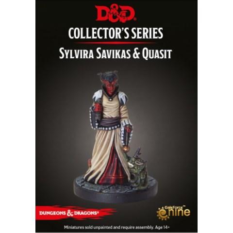 D&D Collector's Series: Descent Into Avernus - Slyvira Savikas & Quasit