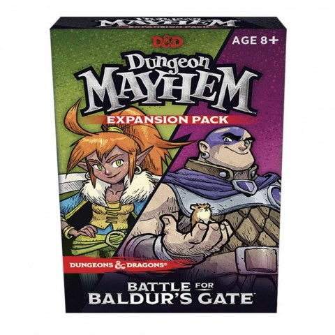 D&D Dungeon Mayhem: Battle for Baldur's Gate (2019) - разширение за настолна игра
