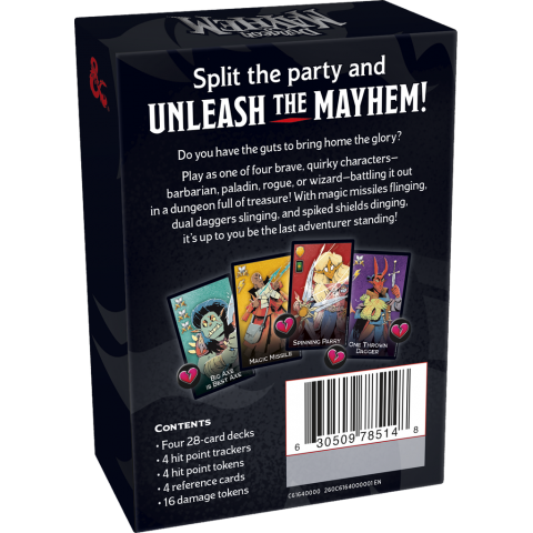 D&D Dungeon Mayhem Card Game (2018) - настолна игра