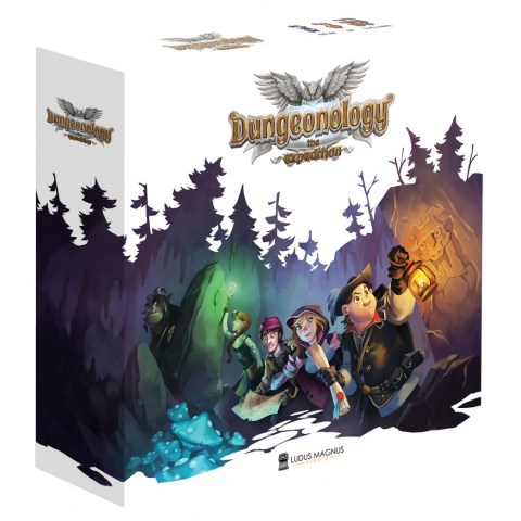 Dungeonology: The Expedition (2019) - настолна игра