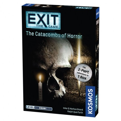 """Exit: The Game – The Catacombs of Horror (2018) - """"escape room"""" настолна игра"""