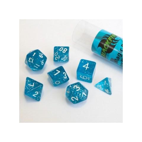 Комплект D&D зарове - Blackfire Magic Blue