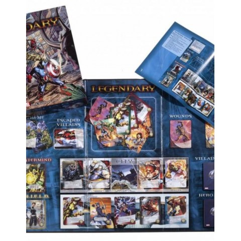 Legendary: A Marvel Deck Building Game (2012) Board Game
