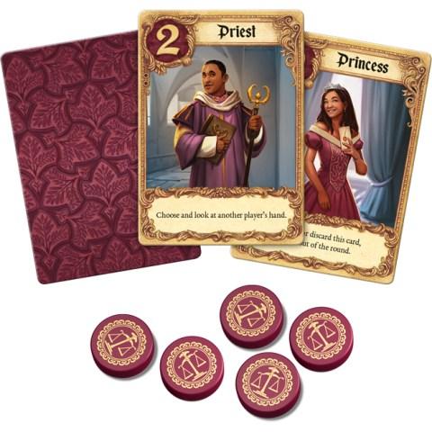 Love Letter (2-6 играча, 2019) - игра с карти