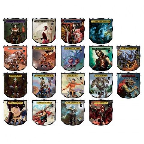 Magic: The Gathering - Relic Tokens Legendary Collection Pack (MTG Life counters)