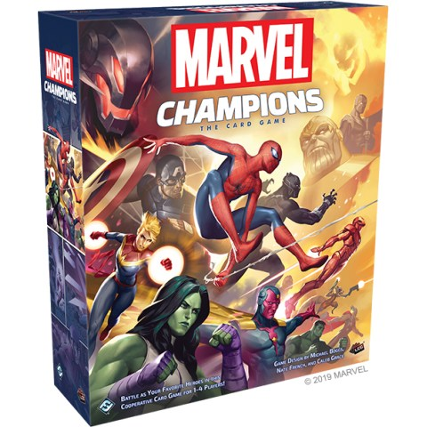 Marvel Champions: The Card Game Core Set (2019) Board Game