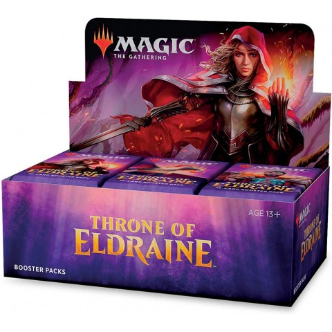 MTG: Throne of Eldraine Booster Box (Booster Display, 36 boosters)