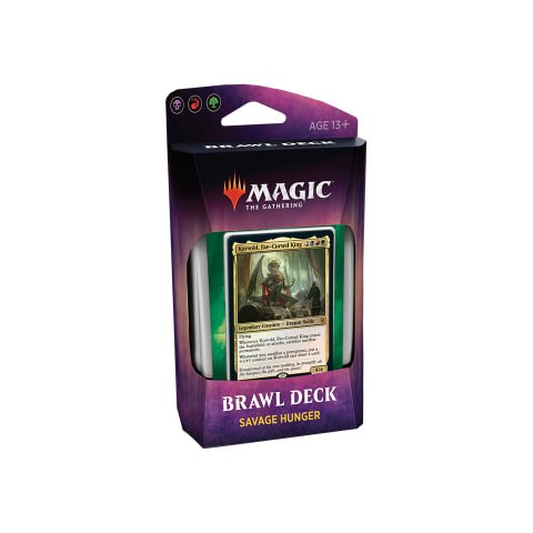 MTG: Throne of Eldraine Brawl Deck - Savage Hunter