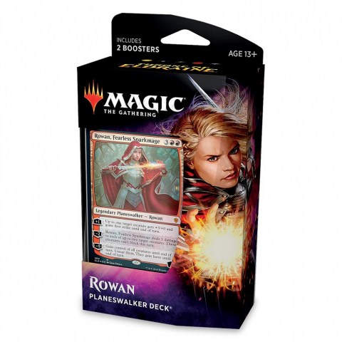 MTG: Throne of Eldraine Planeswalker Deck - Rowan, Fearless Sparkmage в Magic: the Gathering