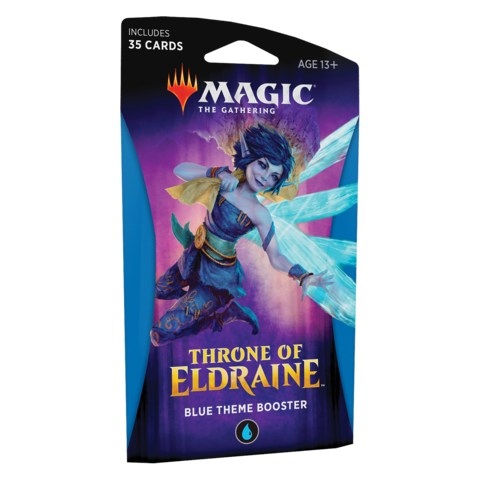 MTG: Throne of Eldraine Theme Booster - Blue