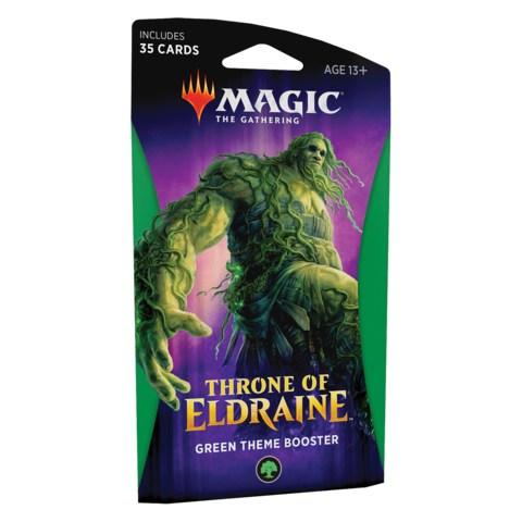 MTG: Throne of Eldraine Theme Booster - Green