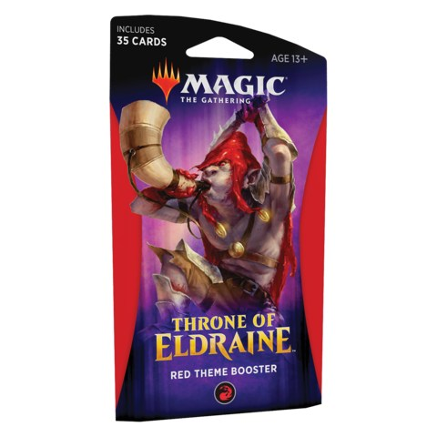 MTG: Throne of Eldraine Theme Booster - Red