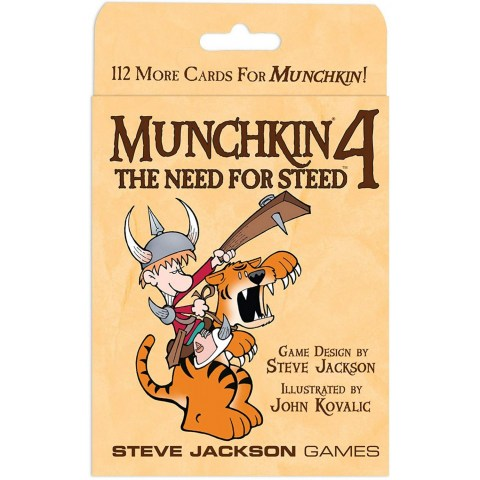 Munchkin 4: The Need for Steed Expansion (2005) - разширение за настолна игра