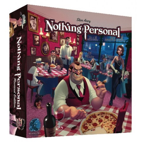 Nothing Personal Revised Edition (2019) - настолна игра