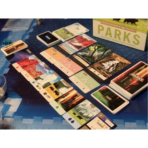 PARKS Reprint (2020) Board Game