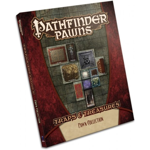 Pathfinder Pawns: Traps & Treasures Pawn Collection в D&D и други RPG / D&D / Pathfinder терен