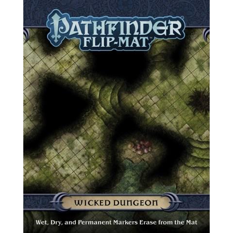 Pathfinder RPG: Flip-Mat - Wicked Dungeon - терени за игра за D&D и други ролеви игри