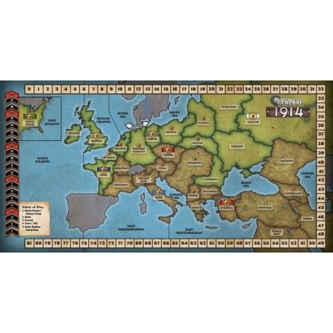 Quartermaster General: 1914 (2016) - военна настолна игра