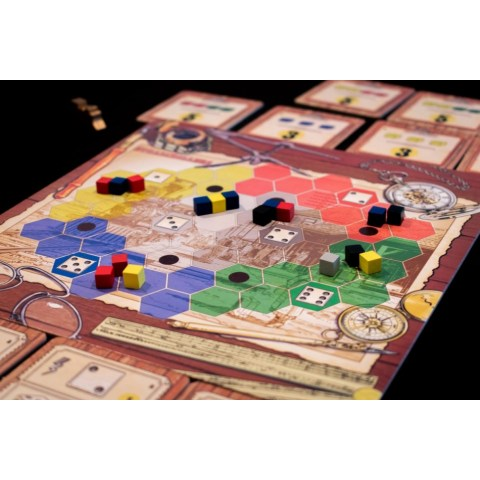 SteamRollers (2015) Board Game