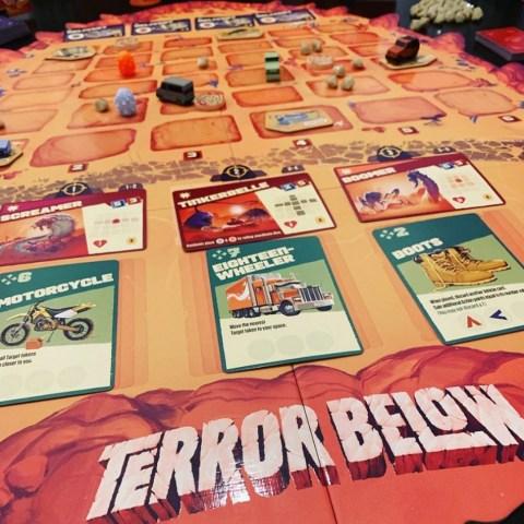 Terror Below (2019) - настолна игра