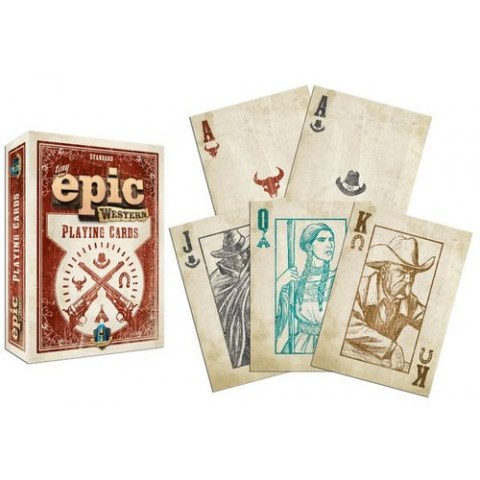 Tiny Epic Western Playing Cards - карти за игра в Карти за игра