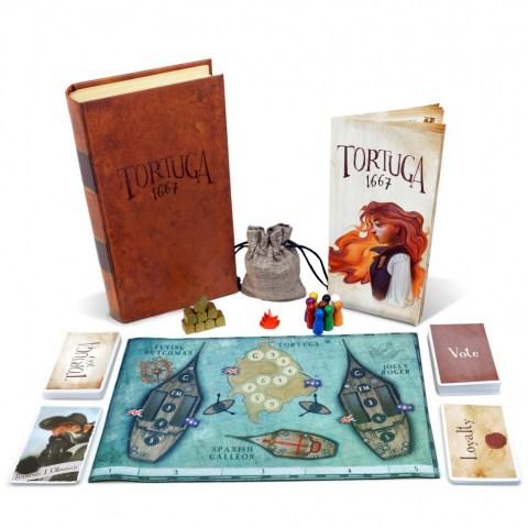 Tortuga 1667 (2017) - парти настолна игра
