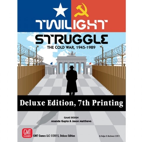 Twilight Struggle: Deluxe edition (7th Printing, 2019) - настолна игра