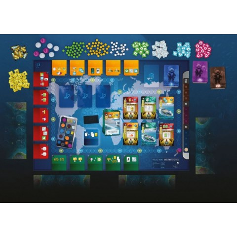 Underwater Cities (2018) Board Game