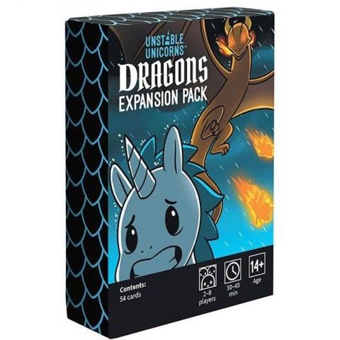 Unstable Unicorns: Dragons Expansion Pack - разширение за настолна игра