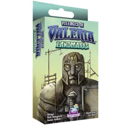 Villages of Valeria: Landmarks Expansion (2019) - разширение за настолна игра