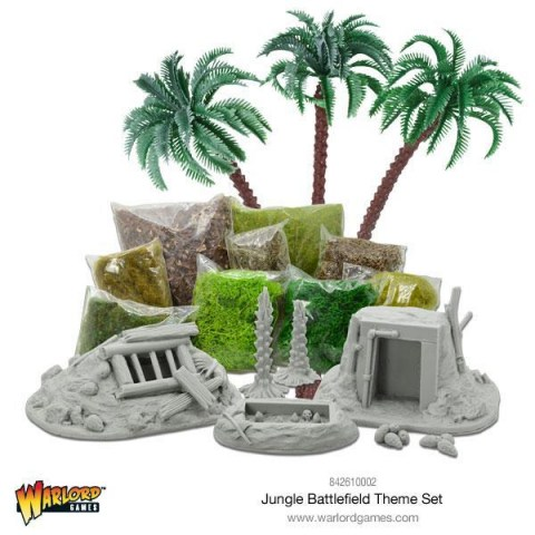 Warlord Games: Jungle Battlefield Theme Set
