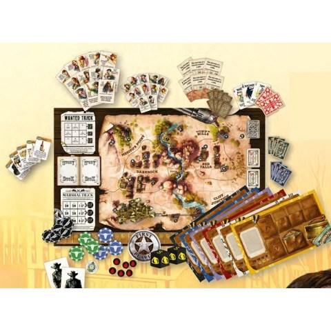 Western Legends (2018) Board Game