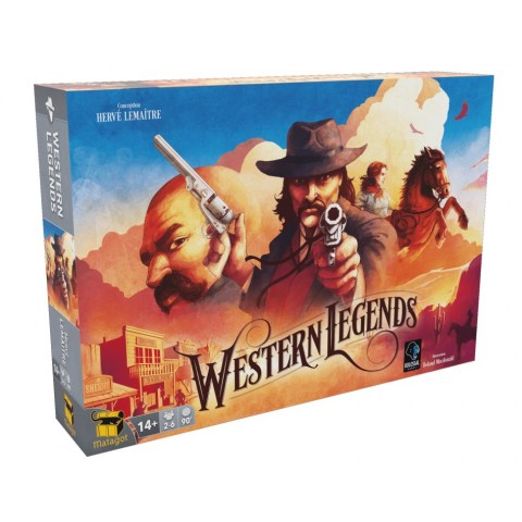 Western Legends (2018) Board Game