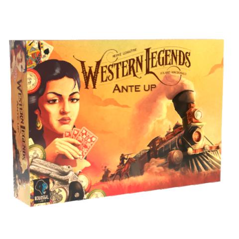 Western Legends: Ante Up (2019) - разширение за настолна игра