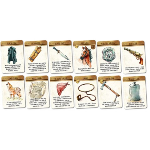 Western Legends: The Good, the Bad and the Handsome Expansion Board Game